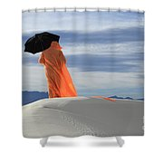 Into The Mystic 4 Shower Curtain