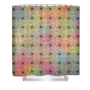 Intricacy Digital Seamless Design Shower Curtain
