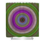 Introspection - Energy Art By Sharon Cummings Shower Curtain