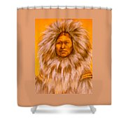 Inuit Woman Shower Curtain