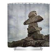 Inuksuk Shower Curtain