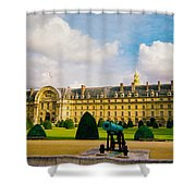 Invalides Paris France Shower Curtain