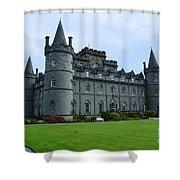 Inveraray Castle In Argyll Shower Curtain