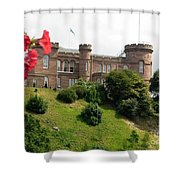Inverness Castle On The Hill Shower Curtain