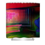 Invisible Collision Shower Curtain