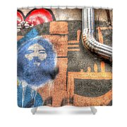 Invisible God Shower Curtain