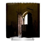 Invitation To The Templar Church Shower Curtain