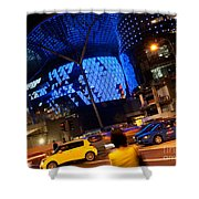 Ion Orchard At Night 01 Shower Curtain