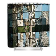 Ion Orchard Reflections Shower Curtain