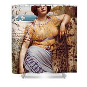 Ionian Dancking Girl Shower Curtain