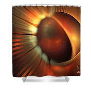 Iota Draconis Shower Curtain