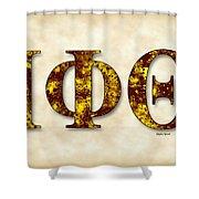 Iota Phi Theta - Parchment Shower Curtain