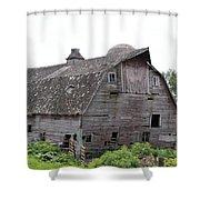 Iowa Barn 7414 Shower Curtain