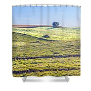 Iowa Farm Land #1 Shower Curtain