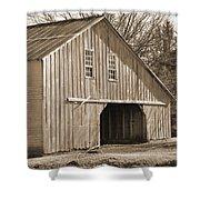 Iowa Hay Barn Shower Curtain