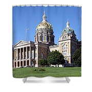 Iowa State Capitol Des Moines Shower Curtain