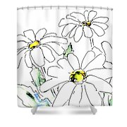 iPhone-Case-Flower-Daisy2 Shower Curtain