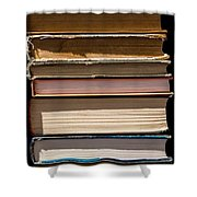 iPhone Case - Pile Of Books Shower Curtain