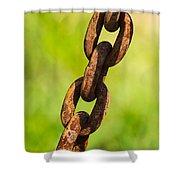 iPhone Case - Rusty Chain Shower Curtain by Alexander Senin