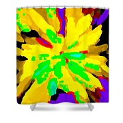 Iphone Cases Colorful Flowers Abstract Roses Gardenias Tiger Lily Florals Carole Spandau Cbs Art 182 Shower Curtain