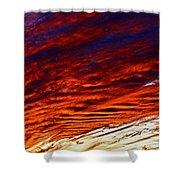 iPhone Southwestern Skies Shower Curtain