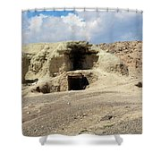 Iran Cave Office Shower Curtain