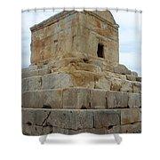 Iran Cyrus Tomb Pasargadae Shower Curtain