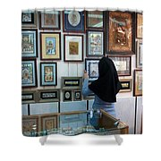 Iran Isfahan Art Shop Shower Curtain