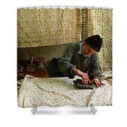Iran Isfahan Artisan  Shower Curtain