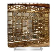Iran Isfahan Forty Columns Shower Curtain