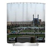 Iran Isfahan Landmarks Shower Curtain