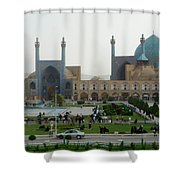 Iran Isfahan  Shower Curtain