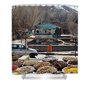 Iran Kandovan Spices Shower Curtain