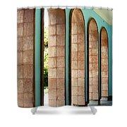 Iran Saadi Monument Shiraz Shower Curtain