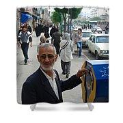 Iran Street Of Mashad Shower Curtain