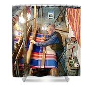Iran Textile Weaver Shower Curtain