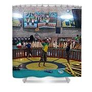 Iran Yazd House Of Strength  Shower Curtain