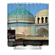Iran Yazd Old And New Shower Curtain