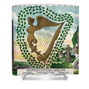 Ireland 1894 Shower Curtain