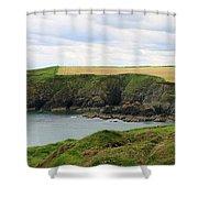 Ireland Coast Panorama Shower Curtain
