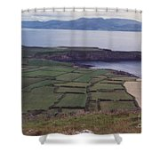 Ireland Emerald Isle Fields By Jrr Shower Curtain