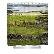Ireland Farm Shower Curtain