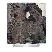 Ireland Minard Castle Ruins By Jrr Shower Curtain