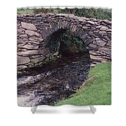 Ireland Timeless Waters Flow Shower Curtain