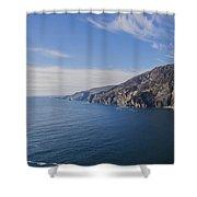 Irelands West Coast - Sleive League Shower Curtain