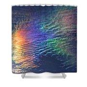Iridescent Clouds 1 Shower Curtain