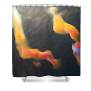 Iridescent Clouds Shower Curtain
