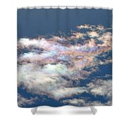 Iridescent Clouds Shower Curtain