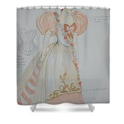 Irina From 'the Three Sisters' Shower Curtain