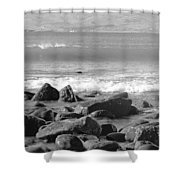 Irish Coast Shower Curtain